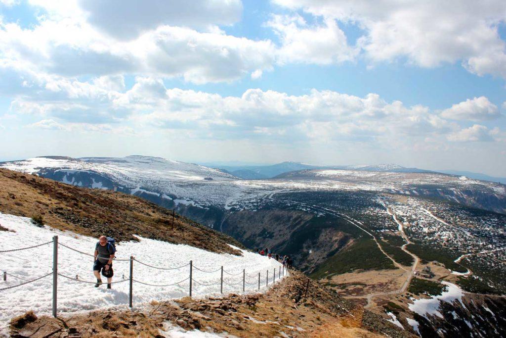 Karkonosze, wycieczka na Śnieżkę