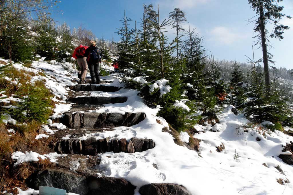 wycieczka zimowa w góry, Janske Lazne