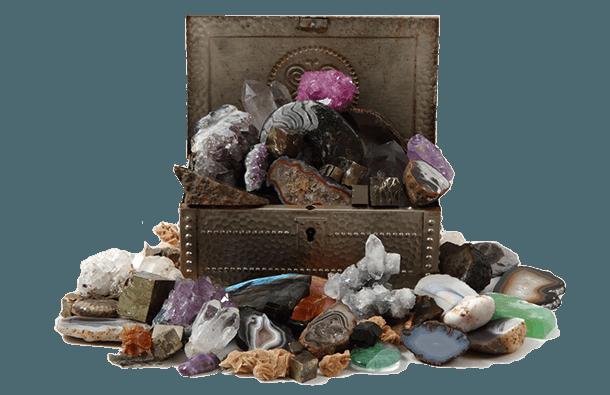 skarby z Krainy Ducha Gór, karkonoskie minerały