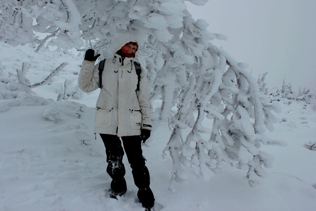 wycieczka z przewodnikiem w Karkonosze, zima